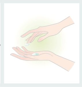 Aplicação Creme Dilênia para Psoríase